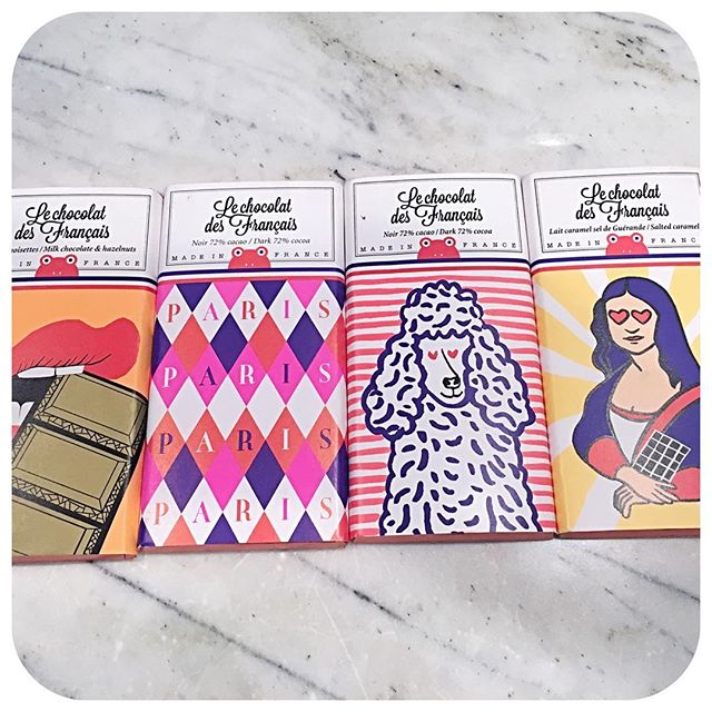What do you do when your chocolates from Paris are too cute to eat?!! #paris #chocolate #packaging