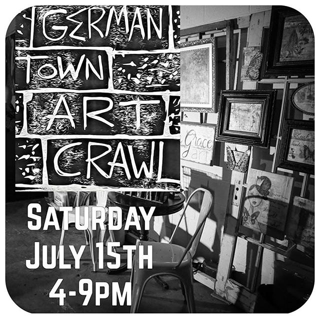 Heads up Nashville!  The next Germantown ArtCrawl is July 15th 4-9pm 100 Taylor St. Join us for local art, local music, local business and local beer!  We have new inventory!! #nashville #vintage #art #local