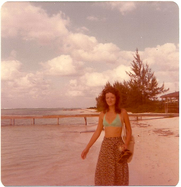 Mom, Grand Cayman, 1978