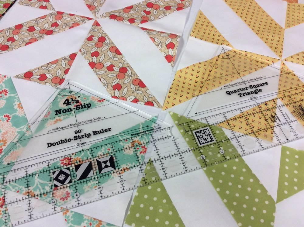 90-Degree Double Strip Ruler from Creative Grids — Prairie Point ... : 2 1 2 strip quilt patterns - Adamdwight.com