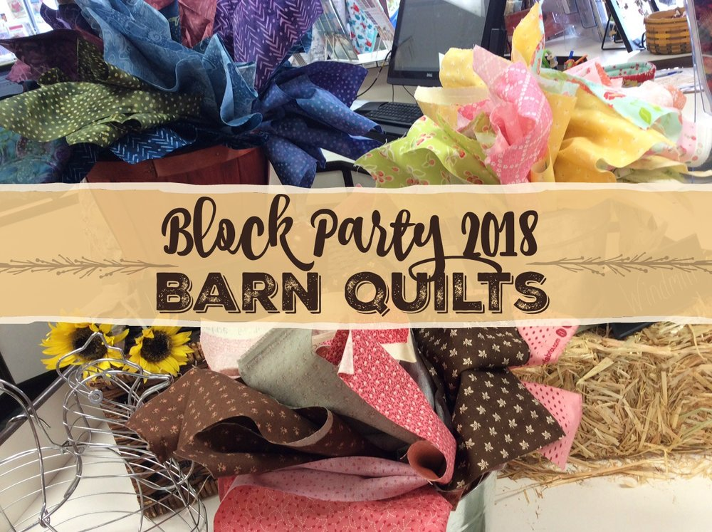 Block Party 2018 Barn Quilts - Free project patterns ...