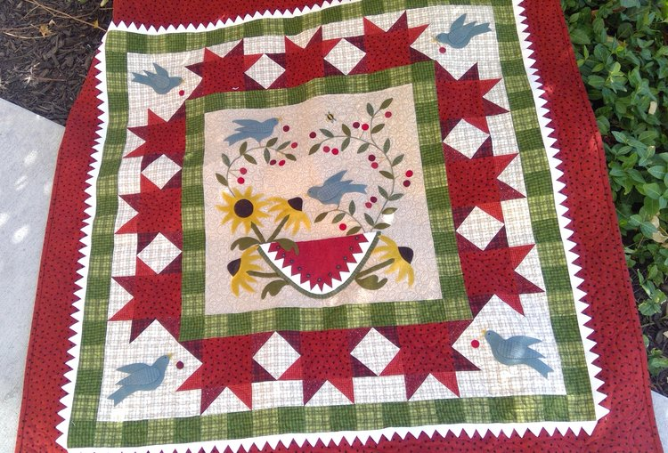 Blog Free Project Patterns Prairie Point Quilt Fabric Shop
