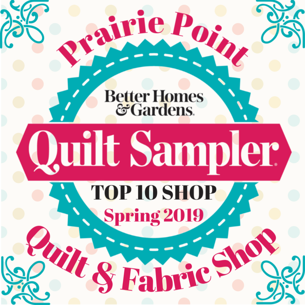 Find us in the Spring 2019 issue of Quilt Sampler magazine!