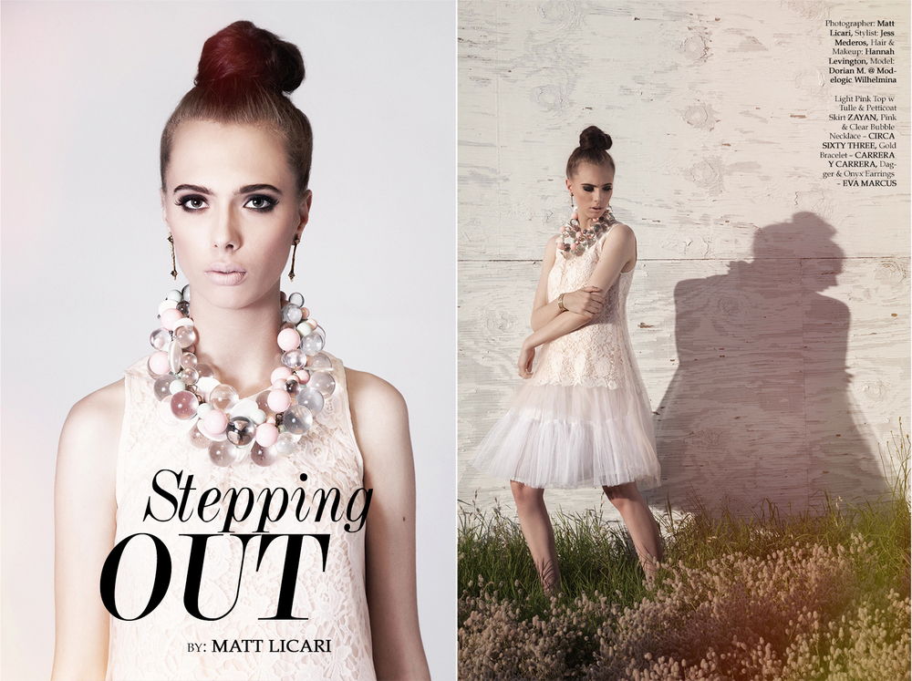 'Stepping Out' MOD MAGAZINE OCTOBER 2013