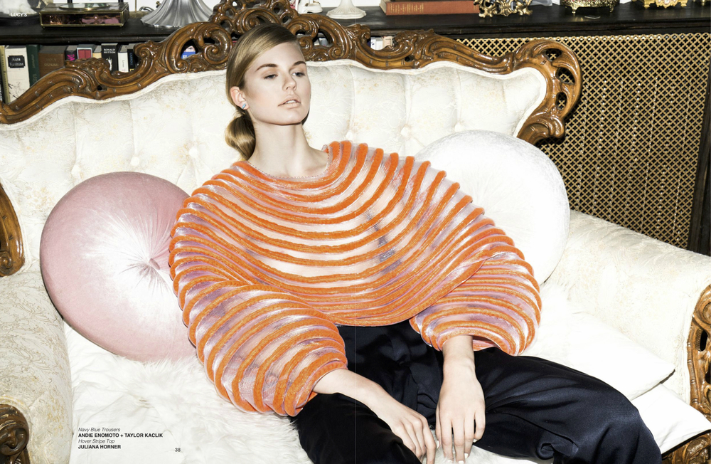 'Belle Couleur' Editorial Lucy's Volume 13
