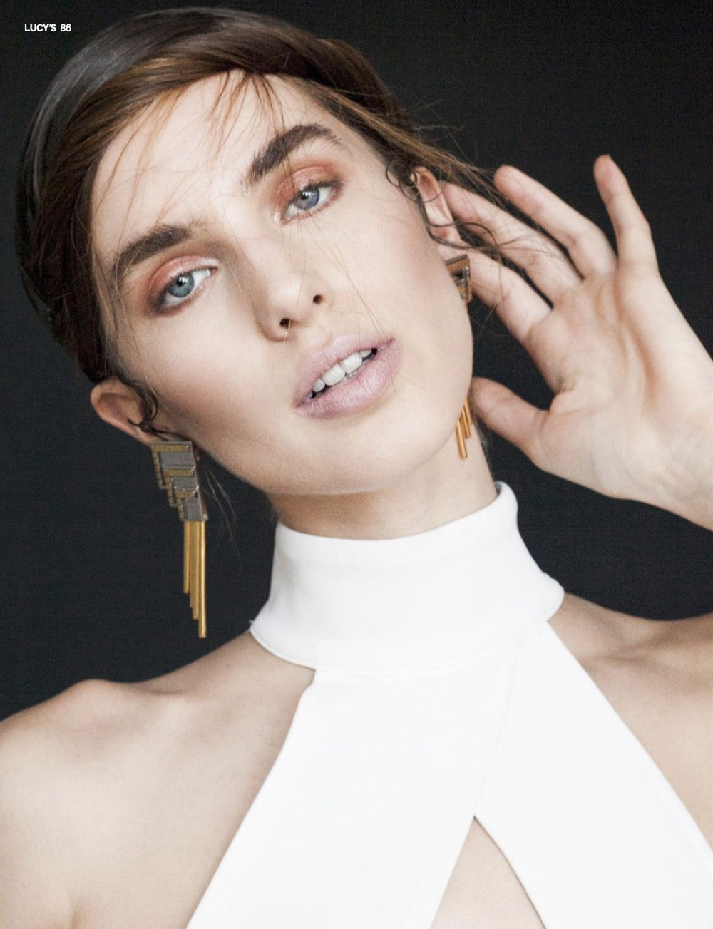 'Whisper' Editorial Lucy's Volume 15 March 2015