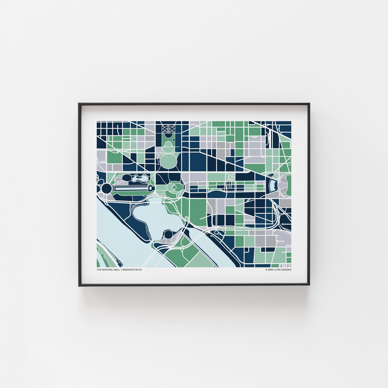 Washington DC - National Mall — Grid+Love Designs