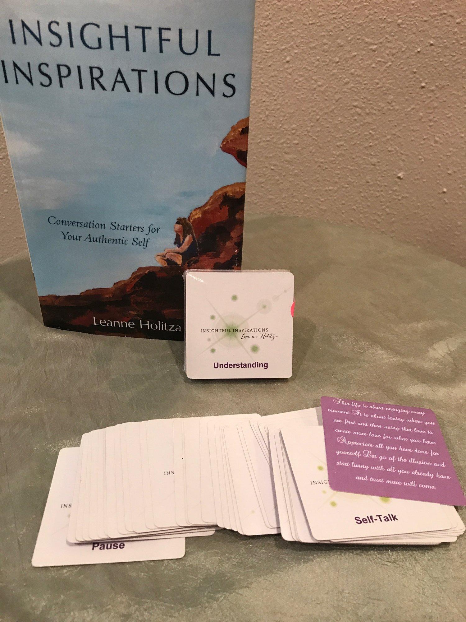 insightful inspiration oracle card deck insightful inspirations