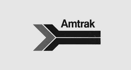 Amtrak's 1971 logo.