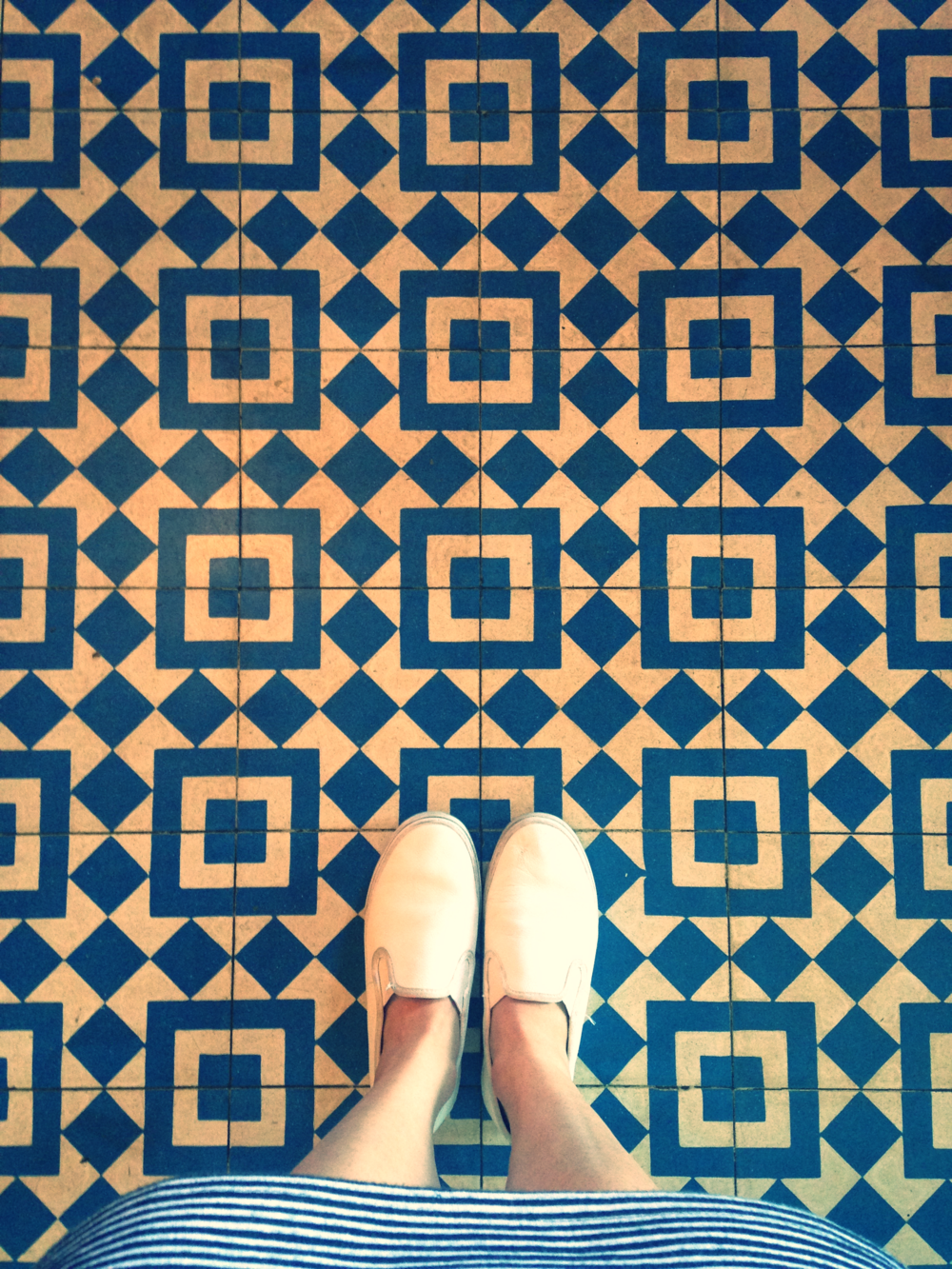 Beautiful tiles in Silverlake.
