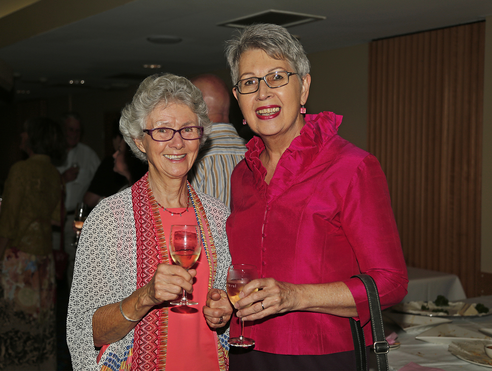 Patricia Wilson and Jenny Dowell,Mayor of Lismore