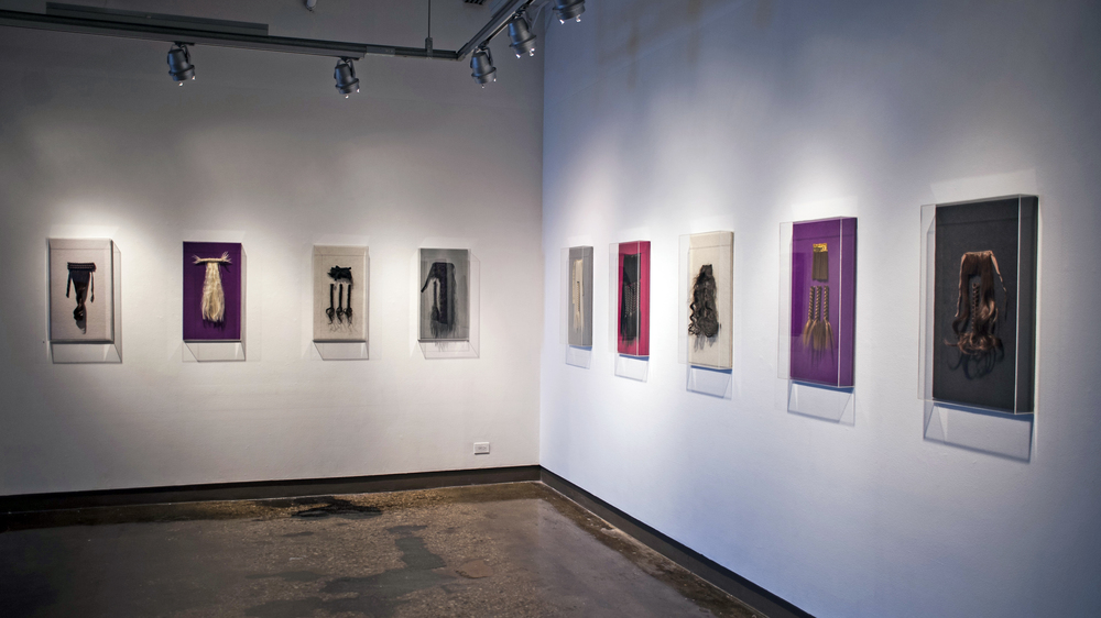 SVA Chelsea gallery install, 2015