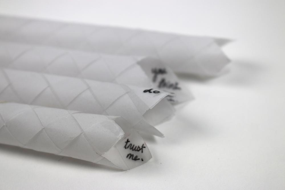 paper finger traps, 2014