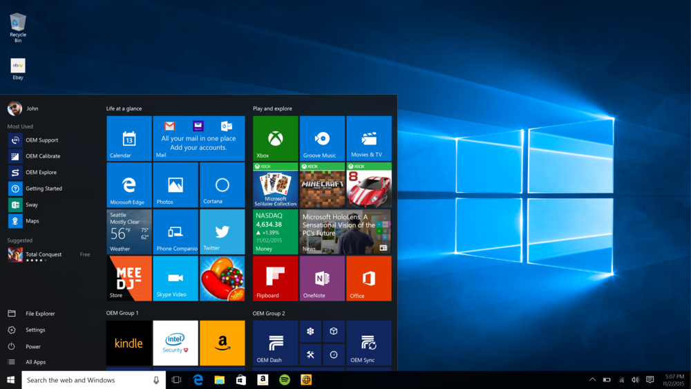 Windows 10 Update Fall 2015