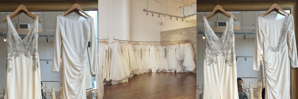 Behind the Scenes: Dress selection at Kinsley James