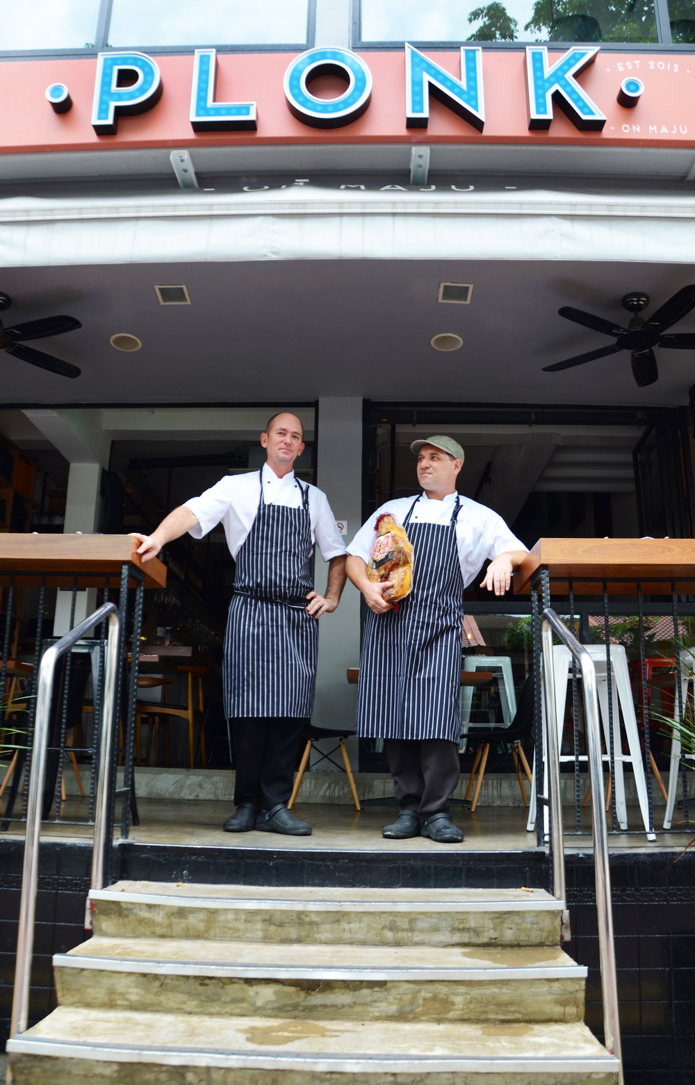 Every day Jules & Simon prepare specials from a selection of fresh produce from their suppliers