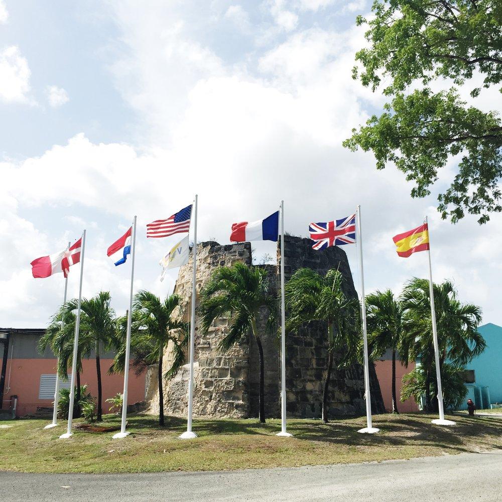 Cruzan Rum Seven Flags - St. Croix, USVI
