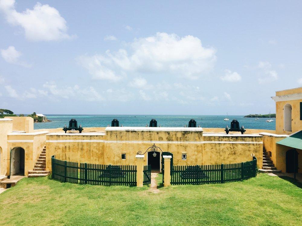 Fort Christiansvearn - St. Croix, USVI