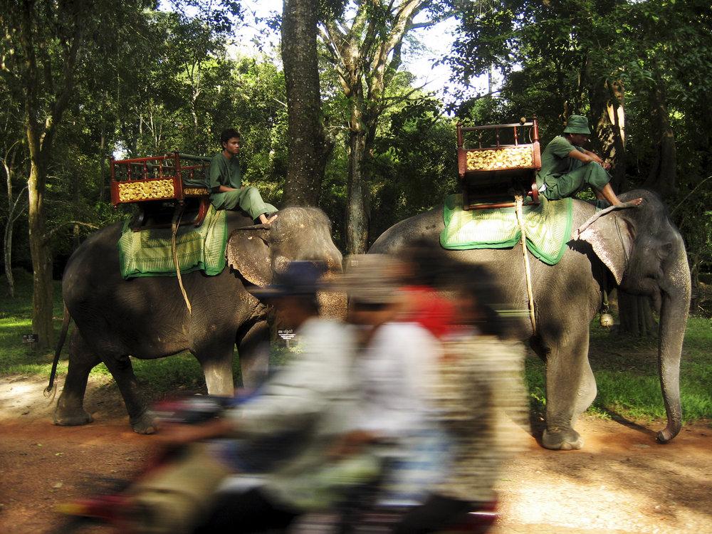 """""""Ancient vs. Modern"""" - Cambodia"""