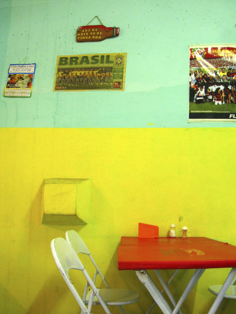 ROCINA FAVELA CAFE - BRASIL