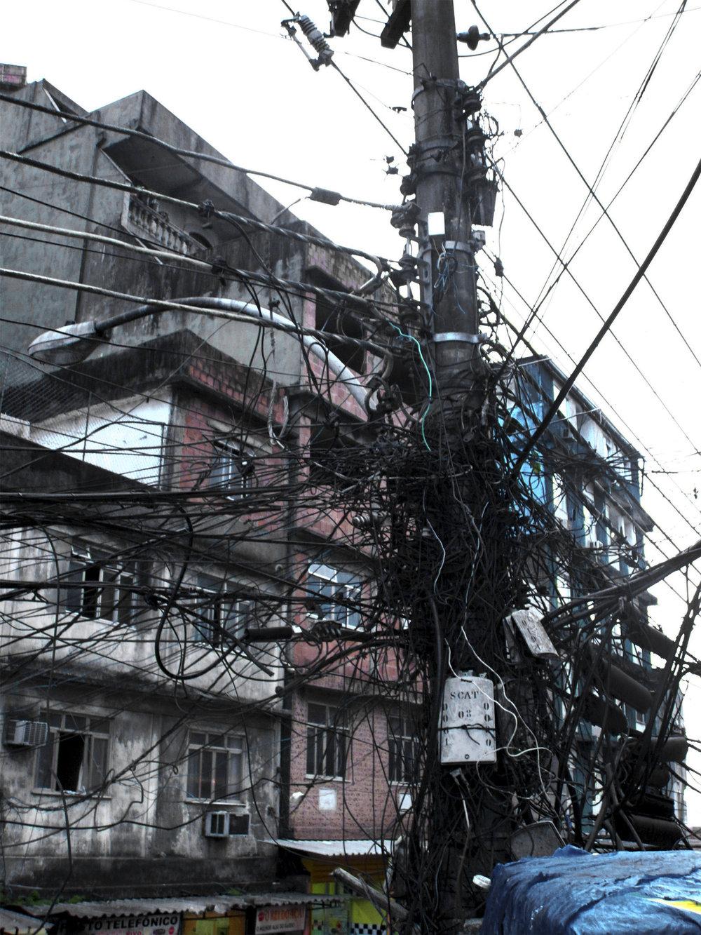 FAVELA ELECTRICITY - BRASIL