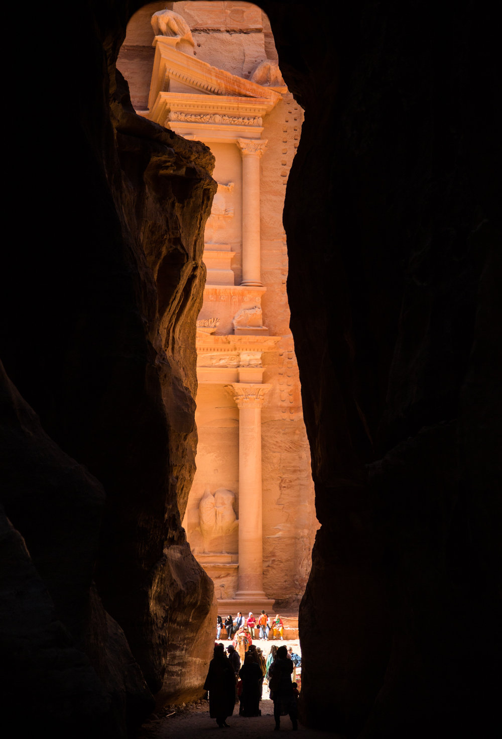 """""""Petra Revealed"""" (B&W Available)"""