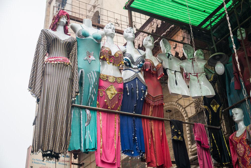 """Bazaar Mannequins"" (B&W Available)"