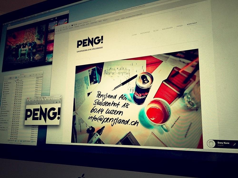 Entwicklung Homepage