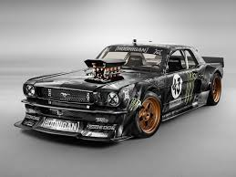 Ken Block's Mustang from his latest viral sensation.