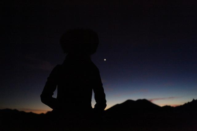 Sunset in Santa Fe, NM