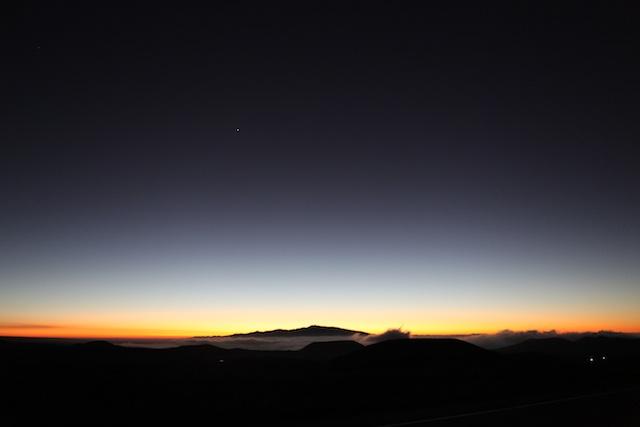 Firey Sunset in Hawai'i