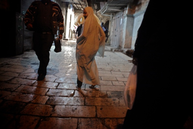 Little Girl in the Holy City, Jerusalem.