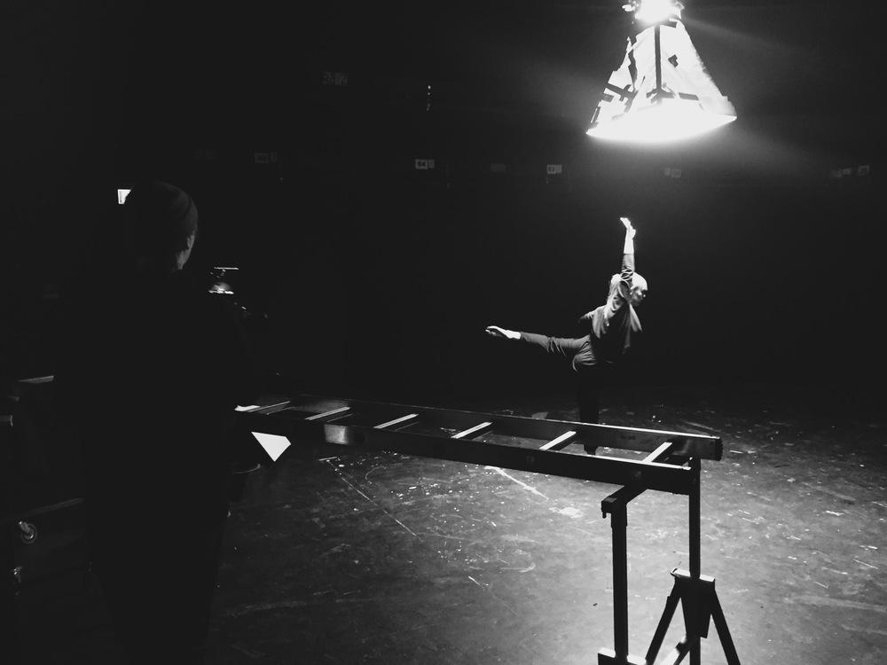 """Inspelning av """"Hypnos"""" Tack alla inblandade, Kajza Rauhala från AKDANS, Sandra och Oskar (Kangero Produktion) Riktigt kul och bra jobbat!/Robert"""
