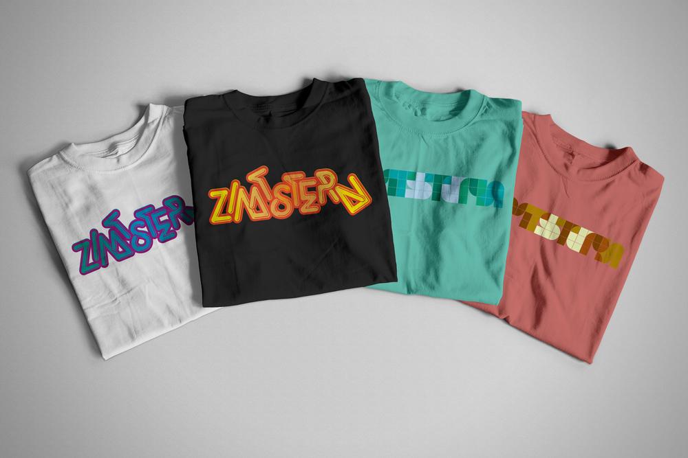 Zimtstern T-Shirt Prints