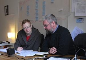 Richard & Sarah thinking it through