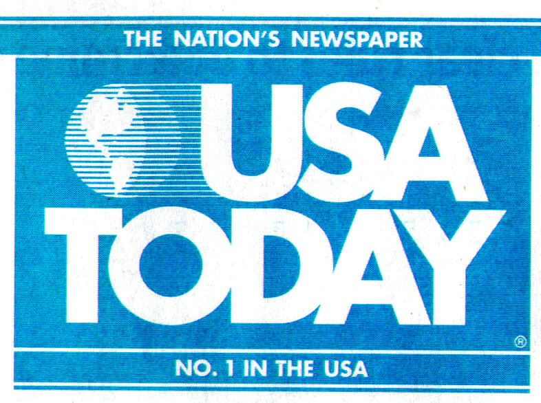 Generating coverage in USA Today is a difficult task, one that we welcome!