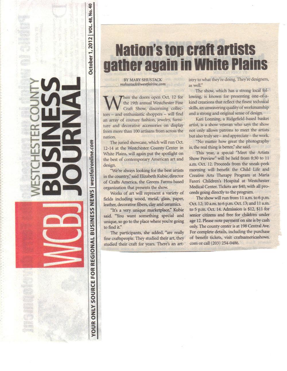 arts westchester and biz journal.JPG