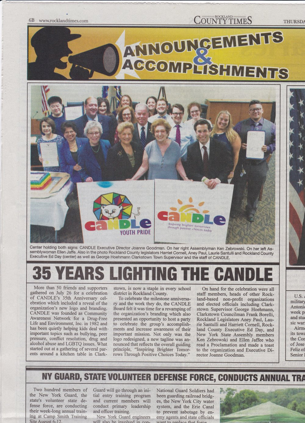 Candle celebration in rockland county times.jpg