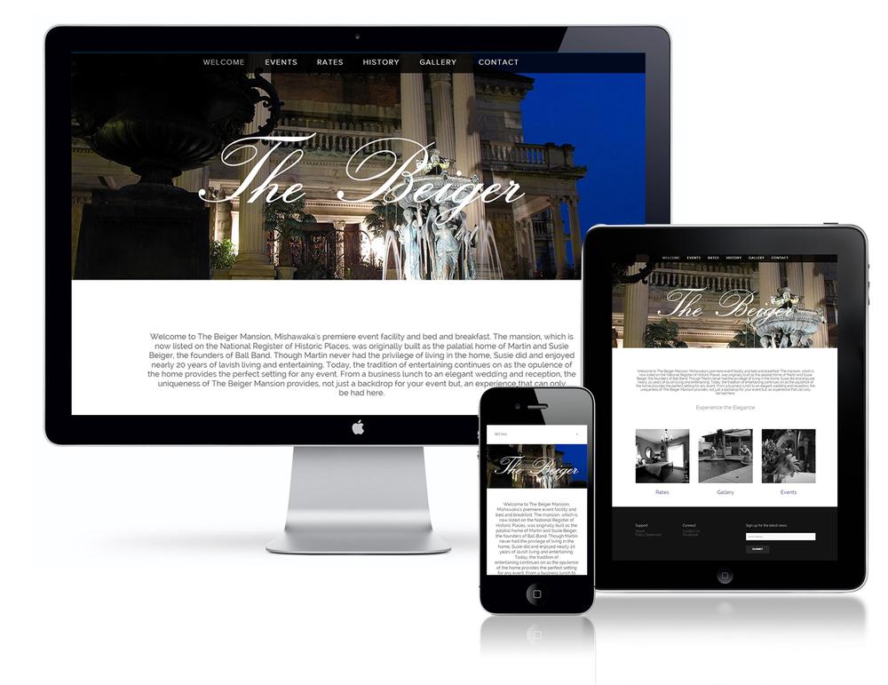 Beiger Mansion Website
