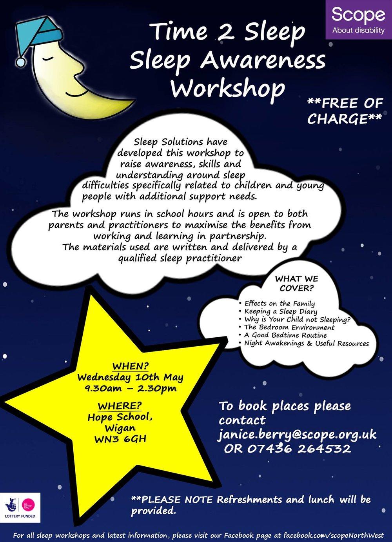 Sleep Awareness Wigan