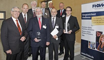 (upper left) Prof. Dr. Thomas Zacher, Prof. Dr. Michael Gilroy, Michael Jungblut, Karl-Heinz Stiller, Dirk U. Hindrichs; (lower left) Eberhard David, Prof. Dr. Udo Dierk, Prof. Dr. Franz Wagner, Dr. Jonas Puck.