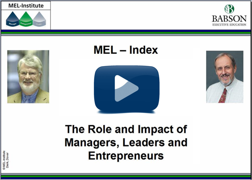 Video: MEL-Index