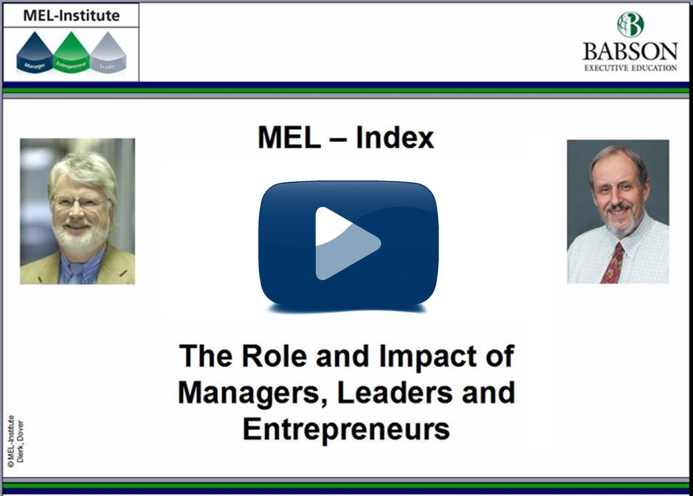 Video: MEL-Index