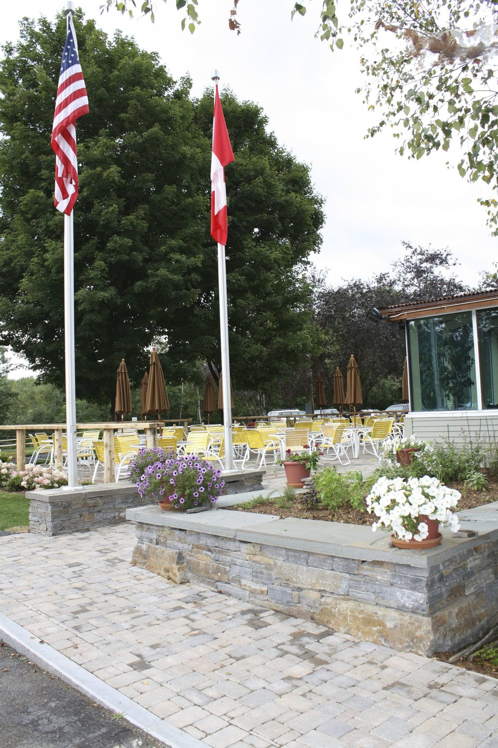 """Crop Bistro completes new dining deck"" from the Stowe Reporter"