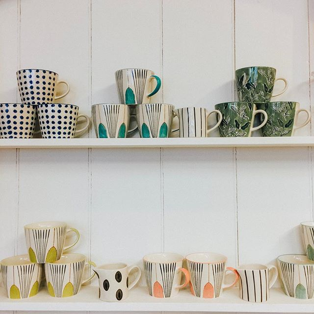 A spot of Christmas shopping over the weekend, we couldn't help but check out these funky mugs!