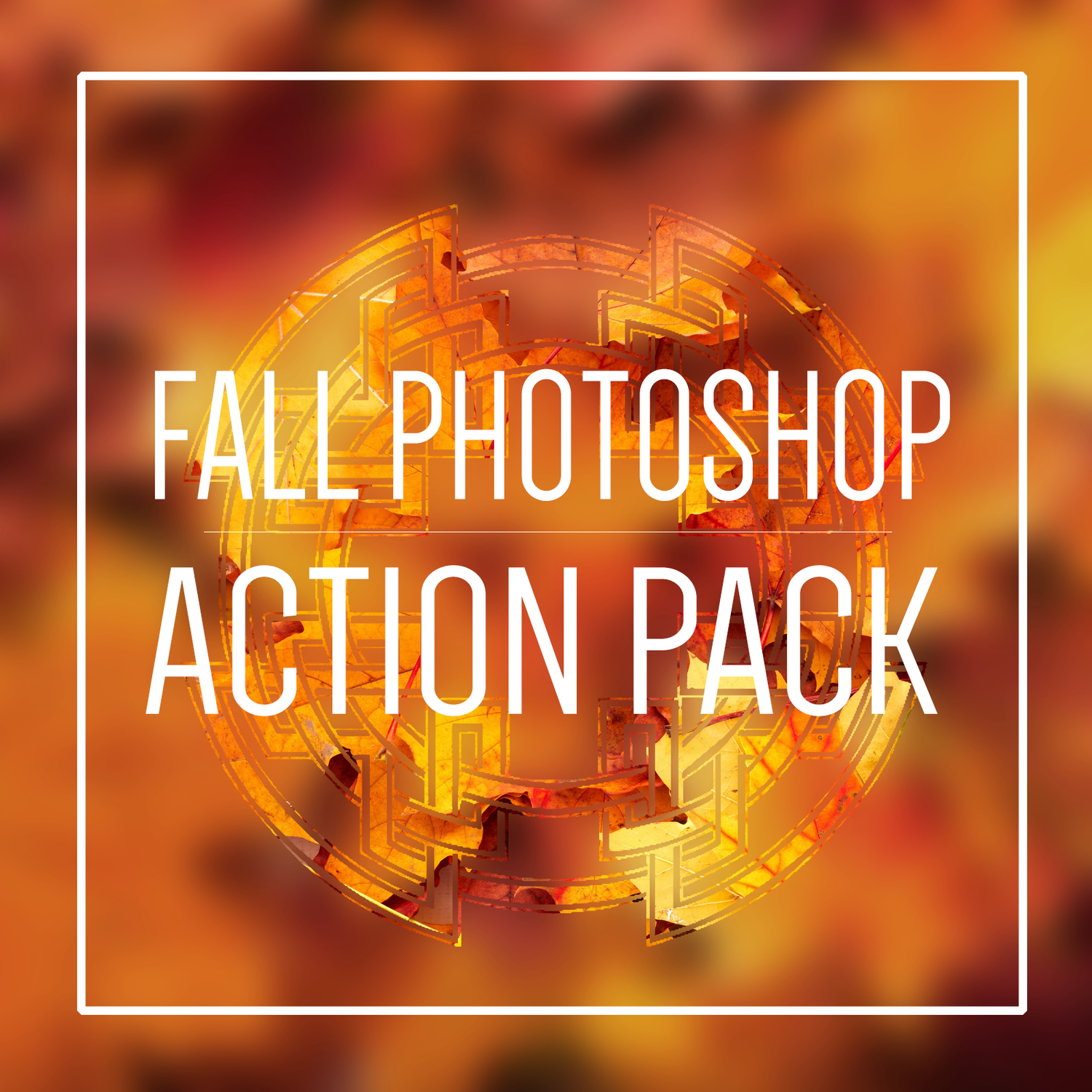 Fall Photoshop Action Pack
