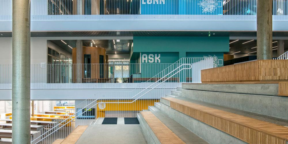 Rygge Ungdomsskole + Bibliotek