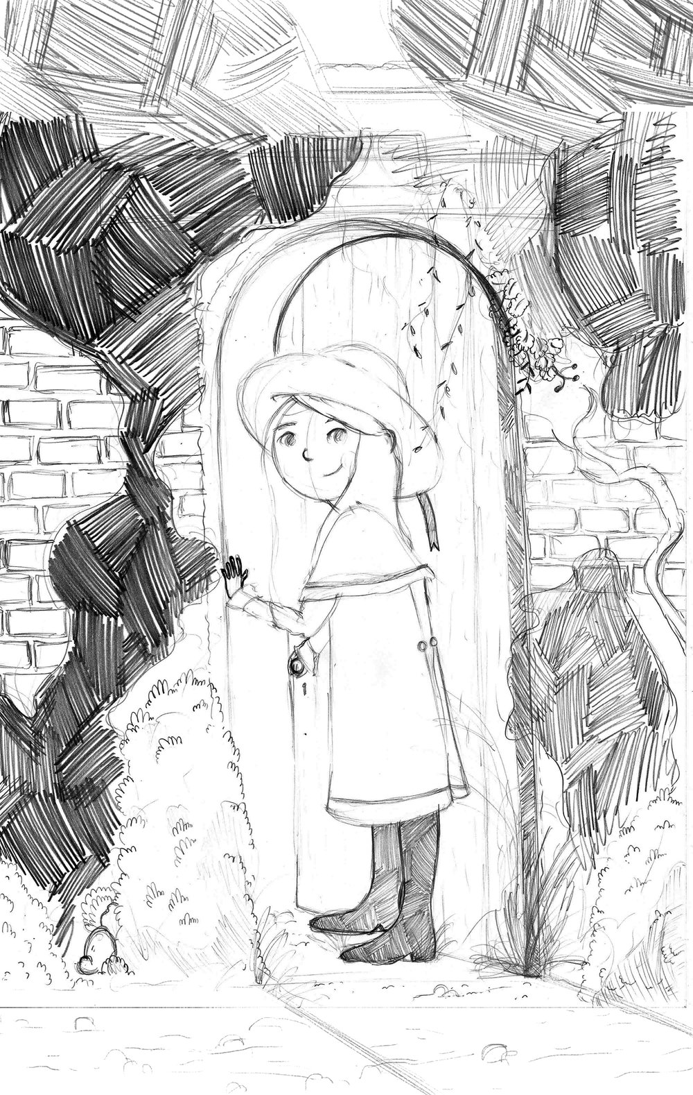 Sketch of Book Cover