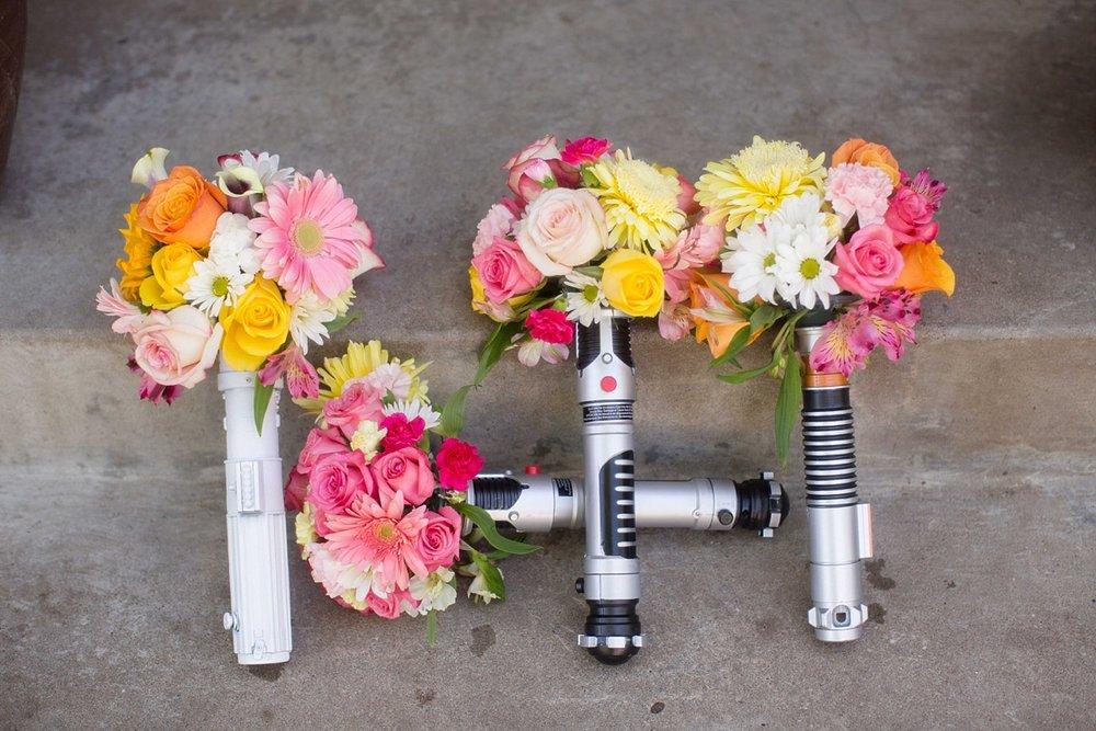 Star Wars Wedding Bouquet