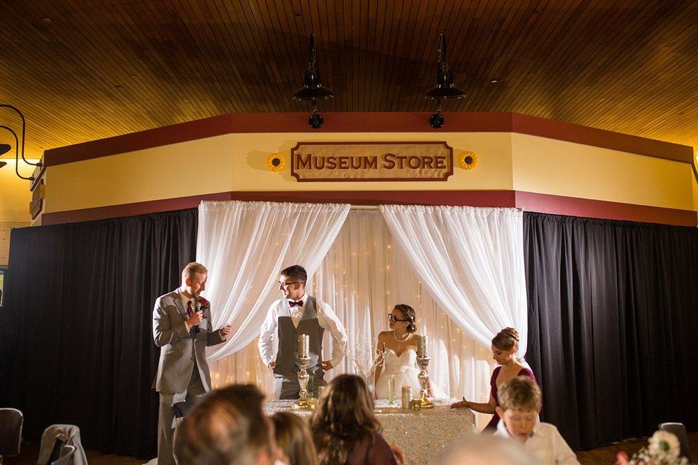 Kansas History Museum Wedding Topeka KS